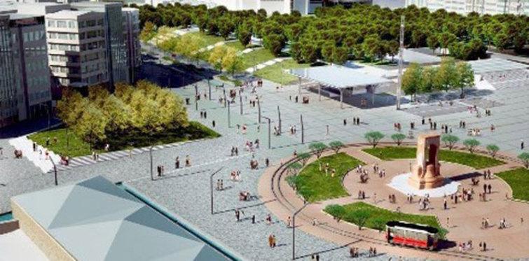 "Topbaş'ın ""yeni"" Taksim Meydanı hayali"