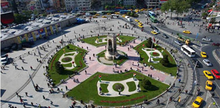 Taksim Meydanı ve Beyoğlu yenileniyor