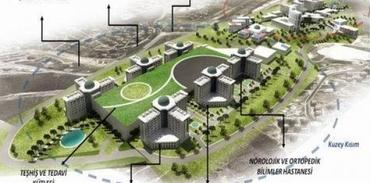 İkitelli Şehir Hastanesi'nin temeli atılıyor