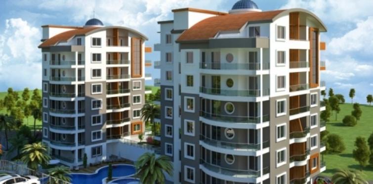 Emo Homes Sitesi Alanya'da inşa ediliyor!