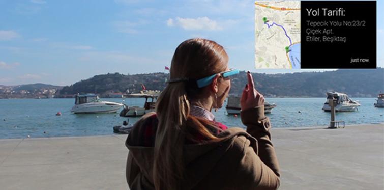 Google Glass ile ev bulma uygulaması Türkiye'de