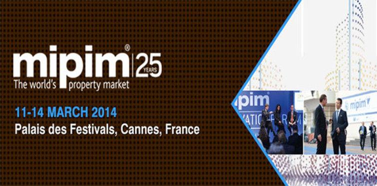 Mipim, 11 Mart 2014'te kapılarını açıyor