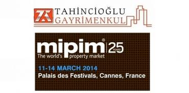 Tahincioğlu Gayrimenkul MIPIM 2014 Cannes'a gidiyor!