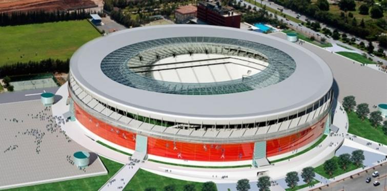 Antalya stadyumu son hali