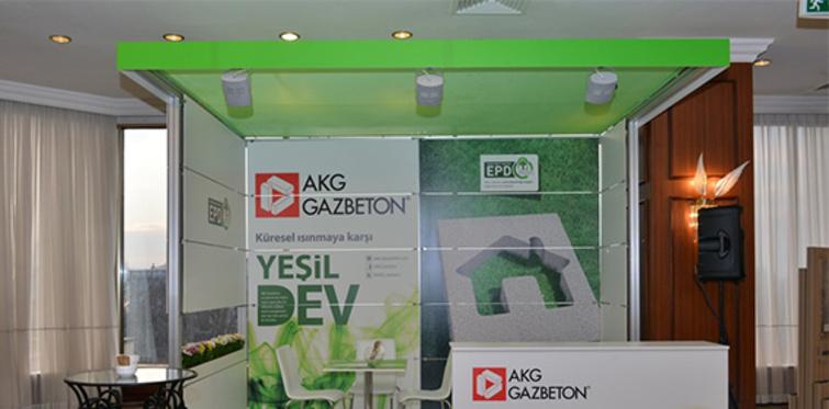 AKG Gazbeton Yeşil Binalar Zirvesi sponsoru oldu