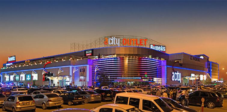 Acity Alışveriş Merkezi kapılarını açıyor