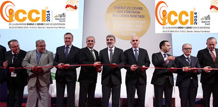 Enerji ve çevre fuarı ICCI 2014 yaklaşıyor