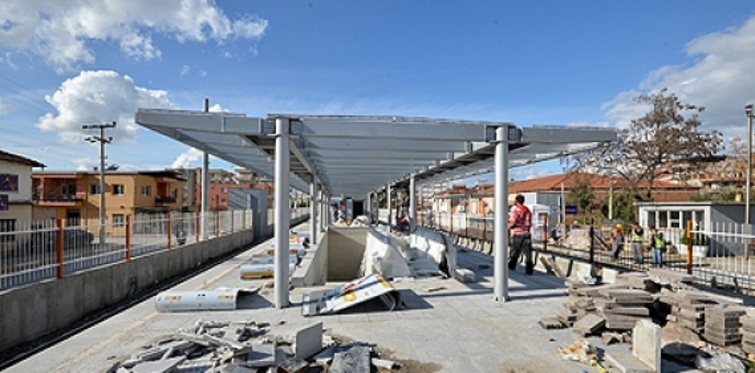 İZBAN Torbalı inşaatında son durum