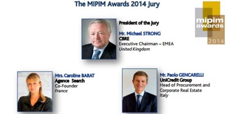 MIPIM Awards 2014 jüri üyeleri kimdir?