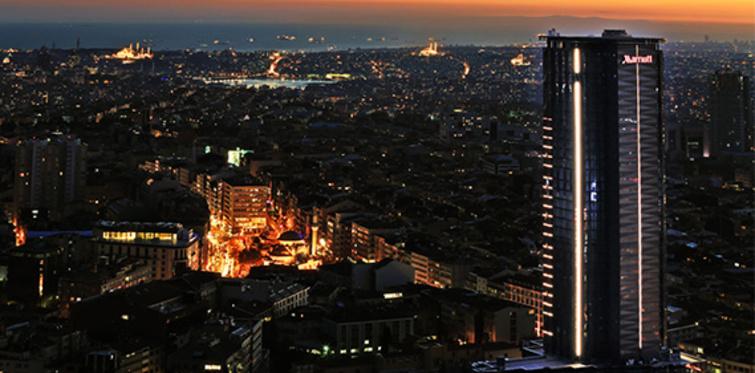İstanbul Marriott Hotel Şişli kapılarını açıyor