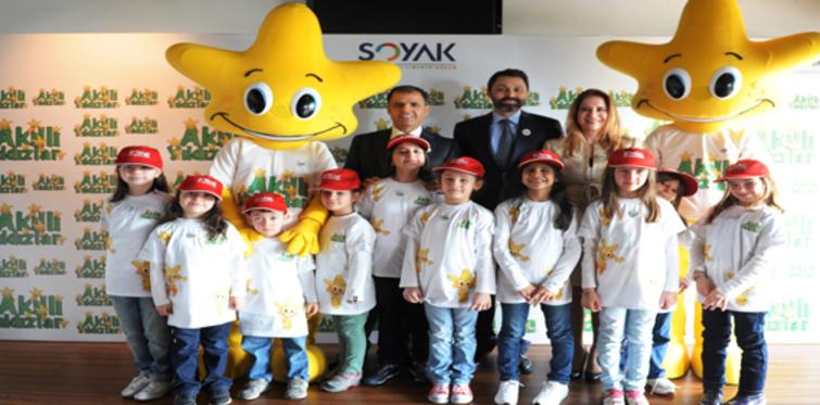 Soyak 'Akıllı Yıldızlar'la 50 bin öğrenciye ulaşacak