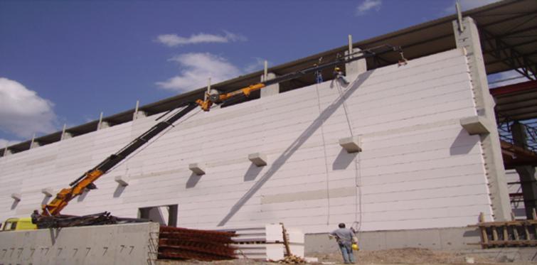 Ytong duvar panelleri inşaatları 10 kat hızlandırıyor