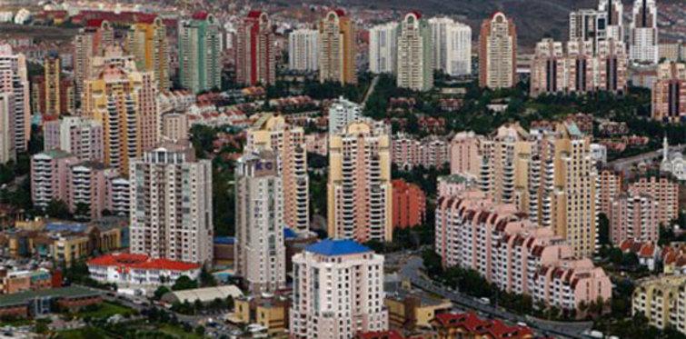 Uşak'ta satılık daireler 1.300 TL'den başlıyor