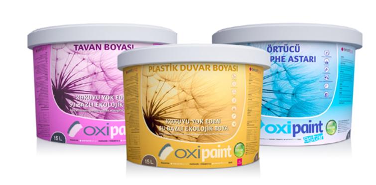 Seranit Grup Oxipaint boyayı piyasaya sürdü