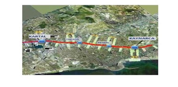 Kartal-Kaynarca metro hattı yapılıyor!
