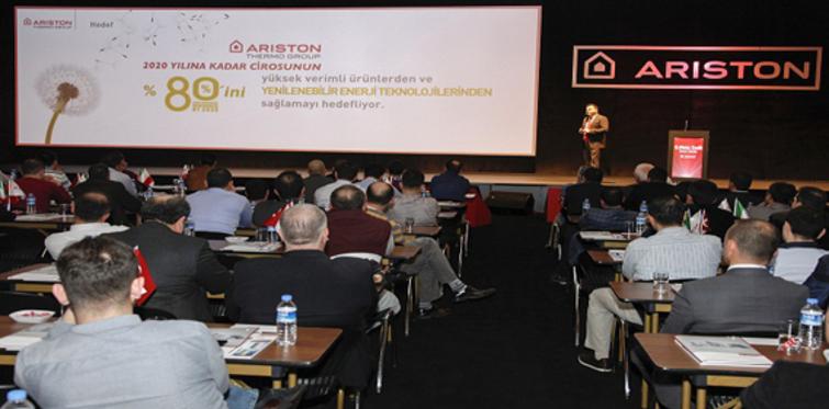 Ariston Thermo Group ısıtma sektörünün geleceğini bayilerle paylaştı