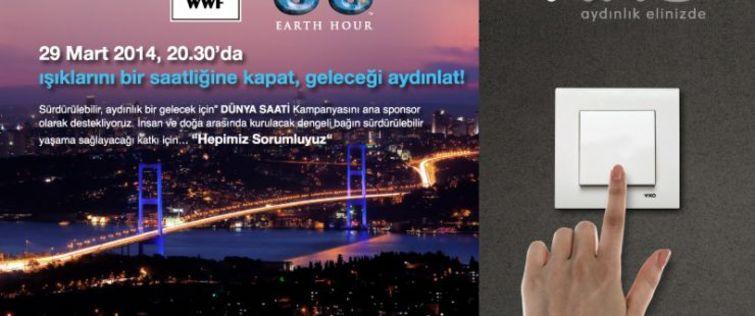 Viko ile WWW-F Türkiye'den dünya saati hedefi