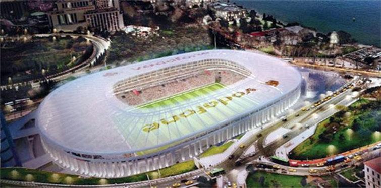 Vodafone Arena'nın temeline 21 bin mesaj