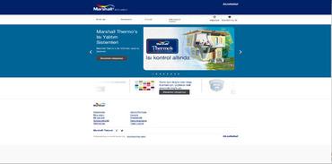 Marshall yeni web sitesi kurdu