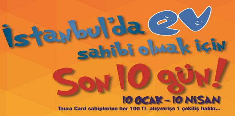 Taurus AVM İstanbul'da ev sahibi yapıyor