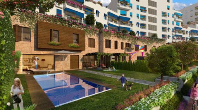 Atakent'te bir 'Ege Kasabası' kuruluyor