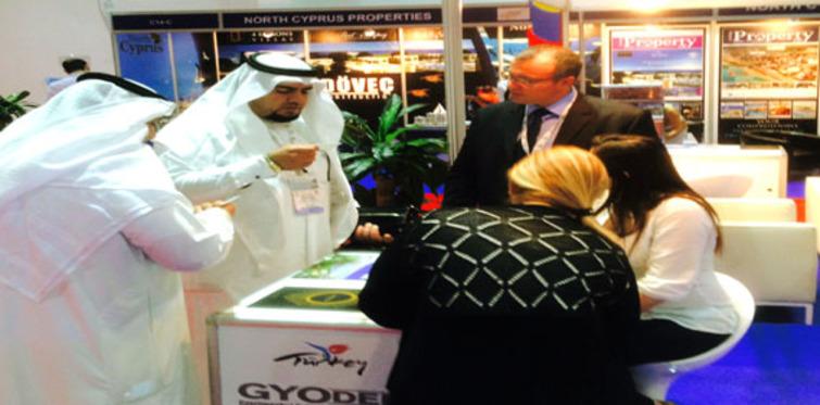 Dubai Fuarı'nda Projebeyaz International'a büyük ilgi!