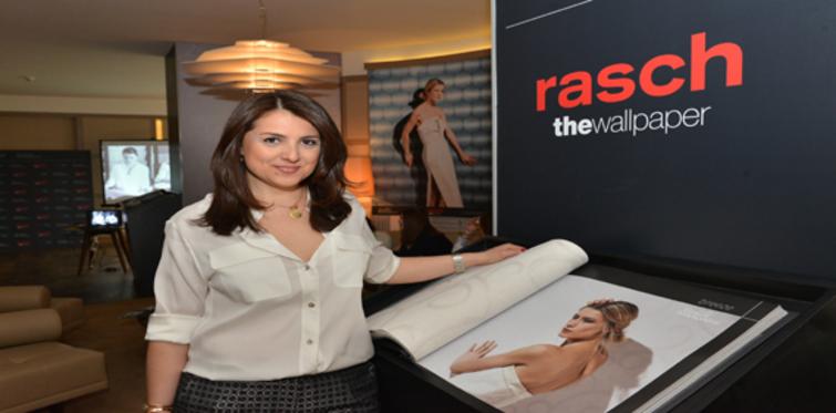Rash, Gamze Saraçoğlu'yla duvar kağıdı tasarladı