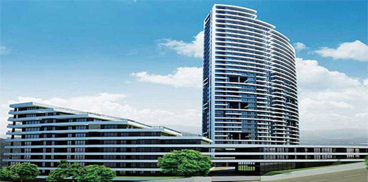 Uptown İncek'te 12 ayda 39 katlı kulenin inşaatı tamamlandı