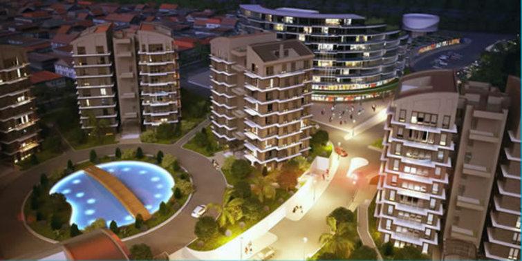 Rings İstanbul bahçeli ve teraslı evleri satışta