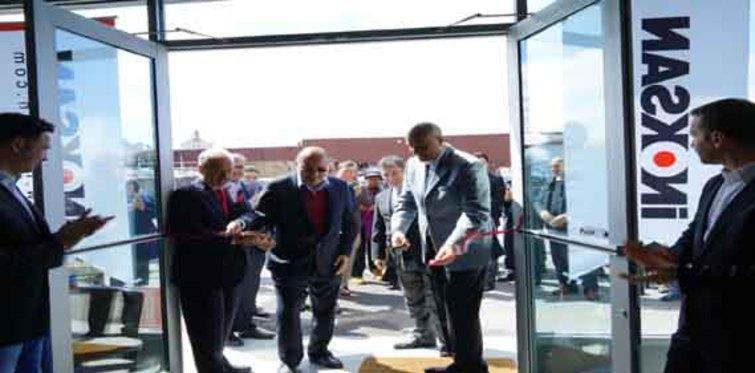İnoksan'ın NewYork'taki bayisi Naskonix açıldı!