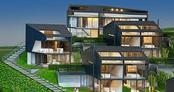 Zekeriyaköy'de 54 'akıllı' villa