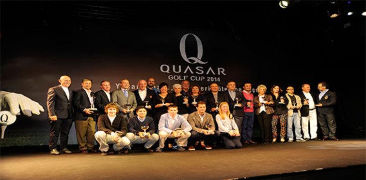 Ünlü isimler Quasar Golf Cup 2014'te yarıştı
