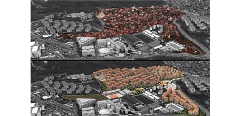 Derbent kentsel dönüşüm projesi durduruldu!