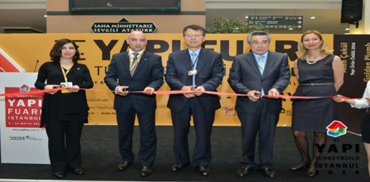 37. Yapı Fuarı - Turkeybuild İstanbul açıldı!