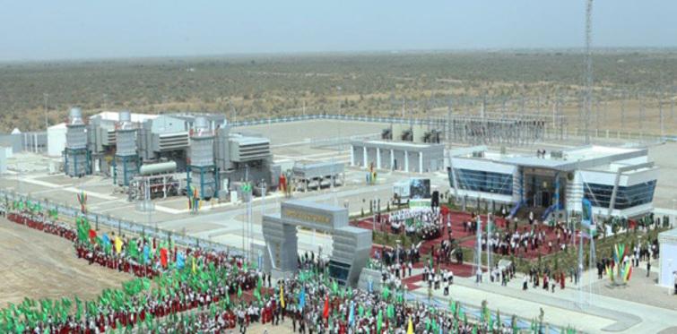 Çalık Enerji Türkmenistan'da uçak motorundan elektrik üretiyor