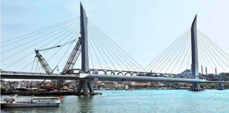 Haliç Metro Köprüsü durakları!