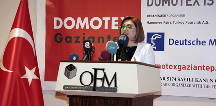 Domotex Gaziantep Halı Fuarı açıldı!