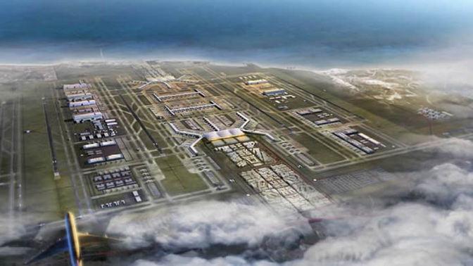 3. Havalimanı inşaatı Haziran'da başlıyor