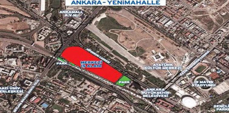 Emlak Konut GYO Ankara'da arsa satıyor!