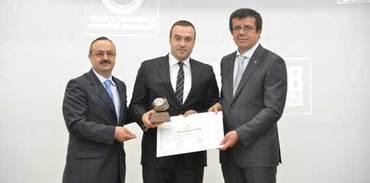 Eryap A.Ş.'ye başarılı ihracatçı ödülü
