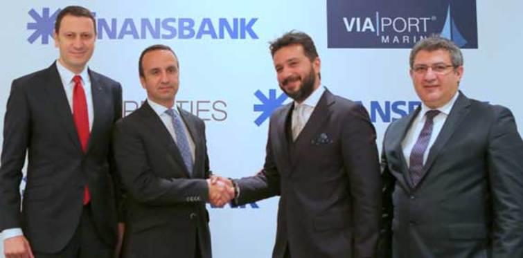Finansbank ve Via Properties'den dev anlaşma