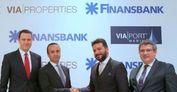 Finansbank ile Via Properties'ten anlaşma