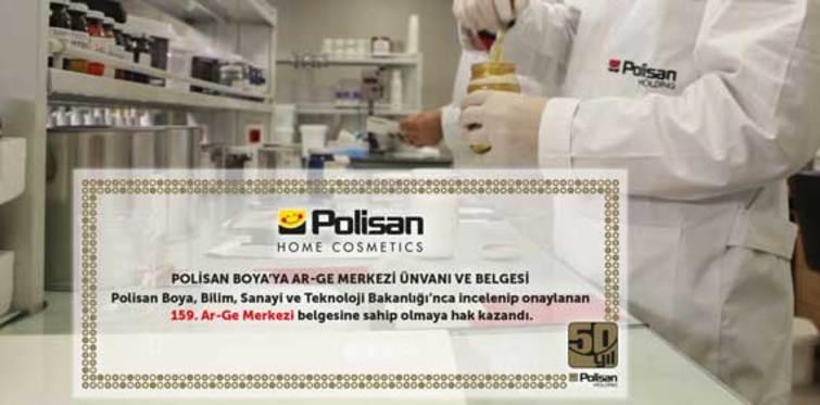 Polisan'a Ar-ge Merkezi belgesi verildi
