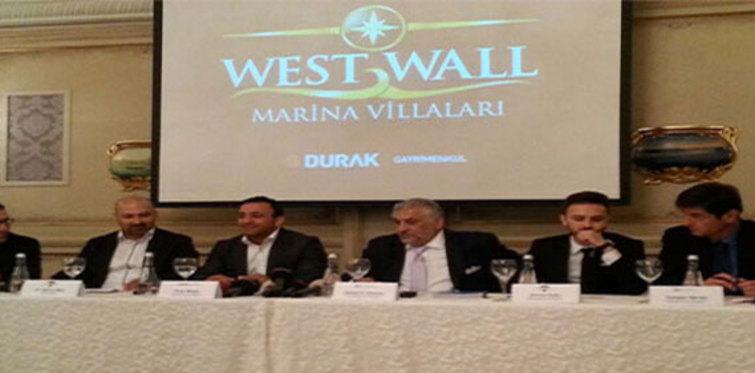 West Wall Marina Villaları'nı Blue Bay Group işletecek!
