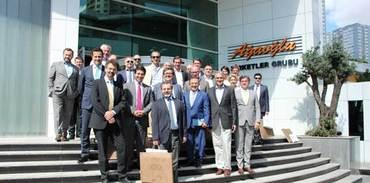 EBP'den İstanbul Finans Merkezi'ne ziyaret