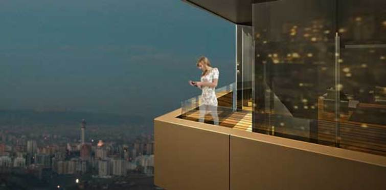 Oran'ın en prestijli projesi One Tower