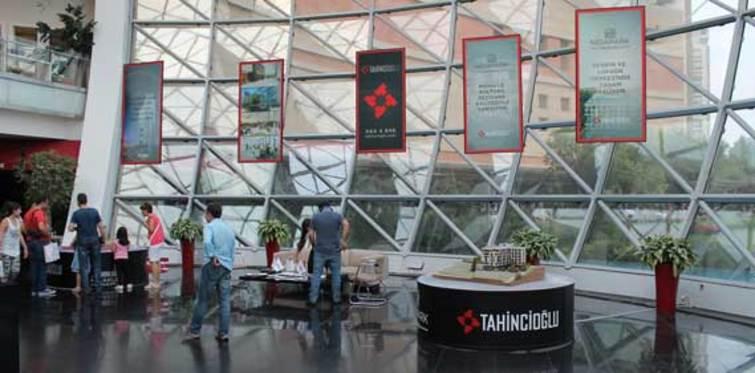 Tahincioğlu projelerini Palladium'da tanıtılacak