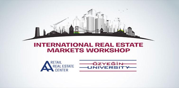 Uluslararası Gayrimenkul Piyasaları Çalıştayı başlıyor