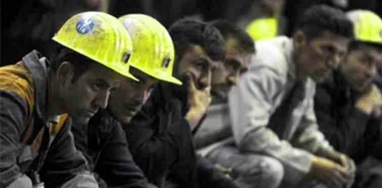 Madenciler paralarını aldı