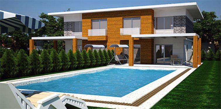 Selimoğlu Çeşme Ilıca Villaları satılık